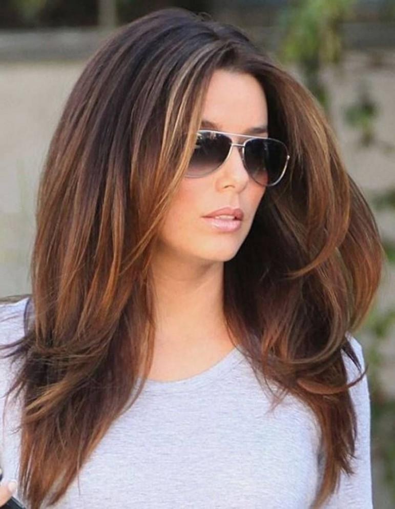 Awesome Modern Long Haircut Pertaining To Household Modern Modern Long Haircuts