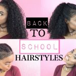 BACK TO SCHOOL HAIRSTYLES FOR CURLY HAIR HALSSA Hairstyles For Curly Hair For School