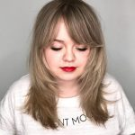 Bangs For Round Face Shapes: 10 Flattering Haircuts Bangs For Round Face And Big Forehead