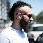 Been Rocking This Curly Mohawk Style For A Looong Looong Time Now Curly Mohawk