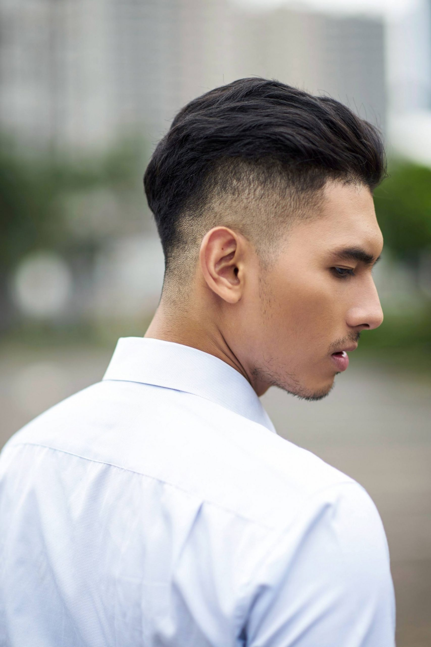 Best Hairstyles For Men With Round Faces All Things Hair PH Buzz Cut Round Face
