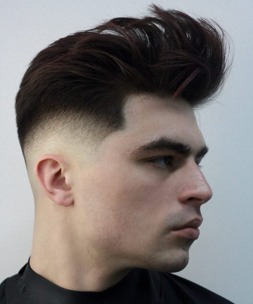 Best Hairstyles For Round Faces For Men – The WKND Hair Salon Best Haircut For Fat Face
