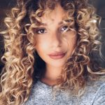 """Blonde Curly Hair (@kelly Rodenburg) On Instagram: """"✌"""" Curly Blonde Hair Curly"""