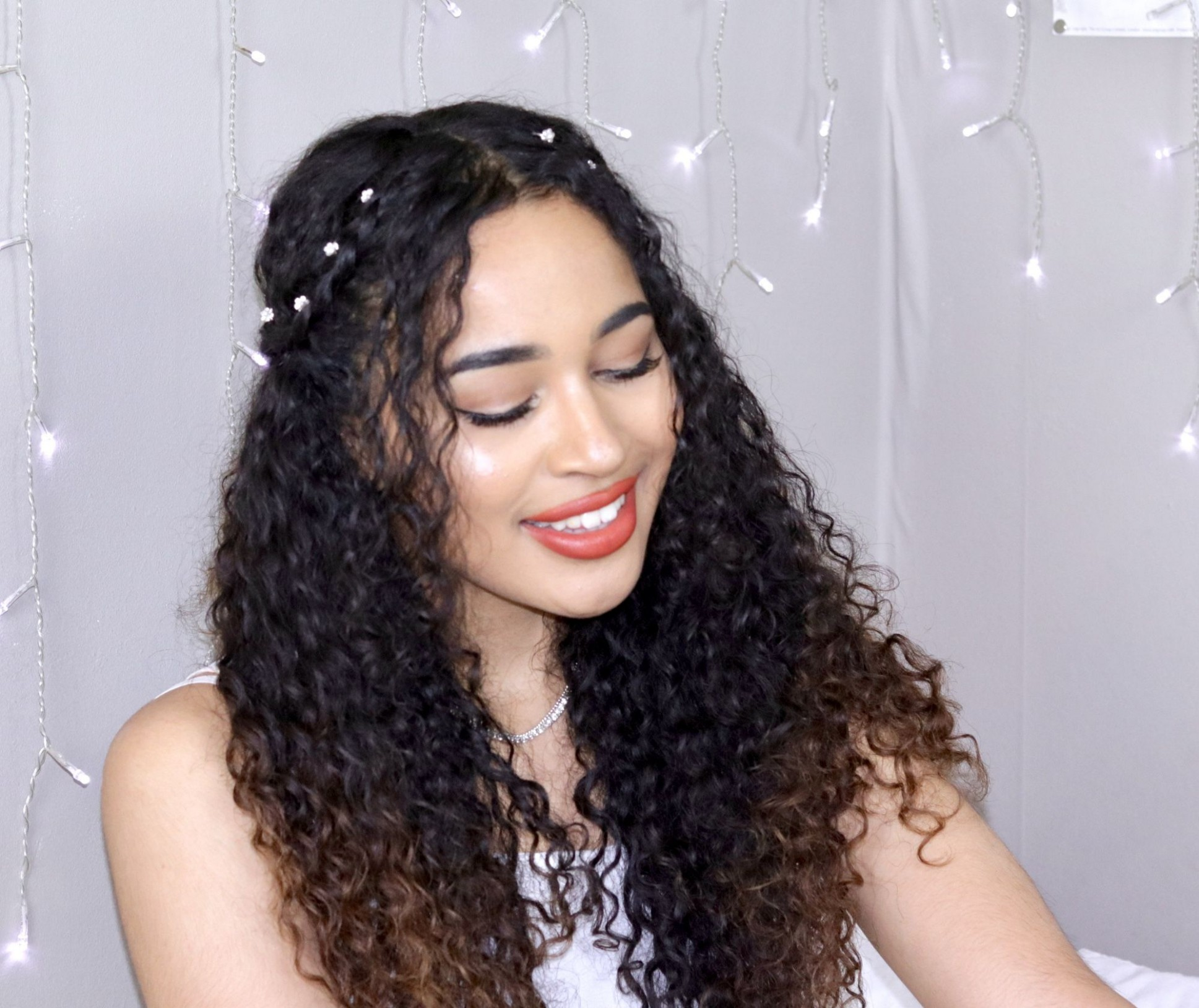 Boho Curly Hairstyles For Prom, Weddings, Graduation, Parties Graduation Hairstyles For Curly Hair