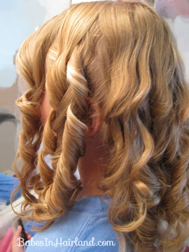 Cascading Pinned Up Curls Babes In Hairland Pinned Up Curls
