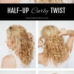 Chic And Simple Half Up Twist Tutorial Hair Romance Half Up Curly Hair