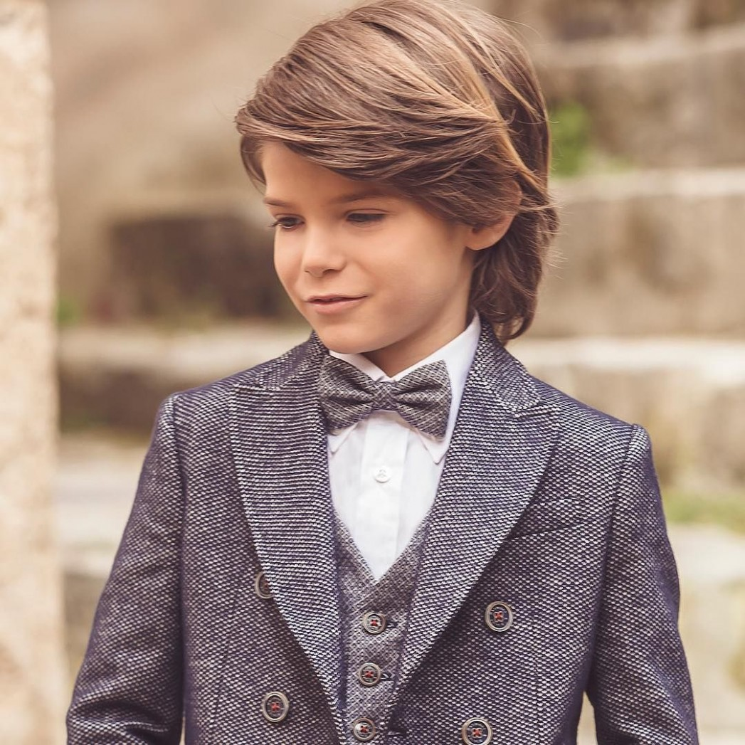Cool 11 Charming Boys Long Hairstyles For Your Kid Boys Long Kids Long Hairstyles