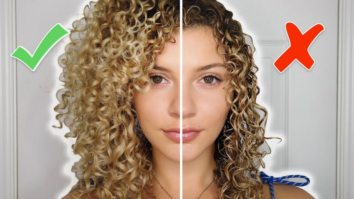 CURLY HAIR STYLING MISTAKES TO AVOID TIPS FOR VOLUME AND DEFINITION (AIR DRY) Ways To Style Curly Hair
