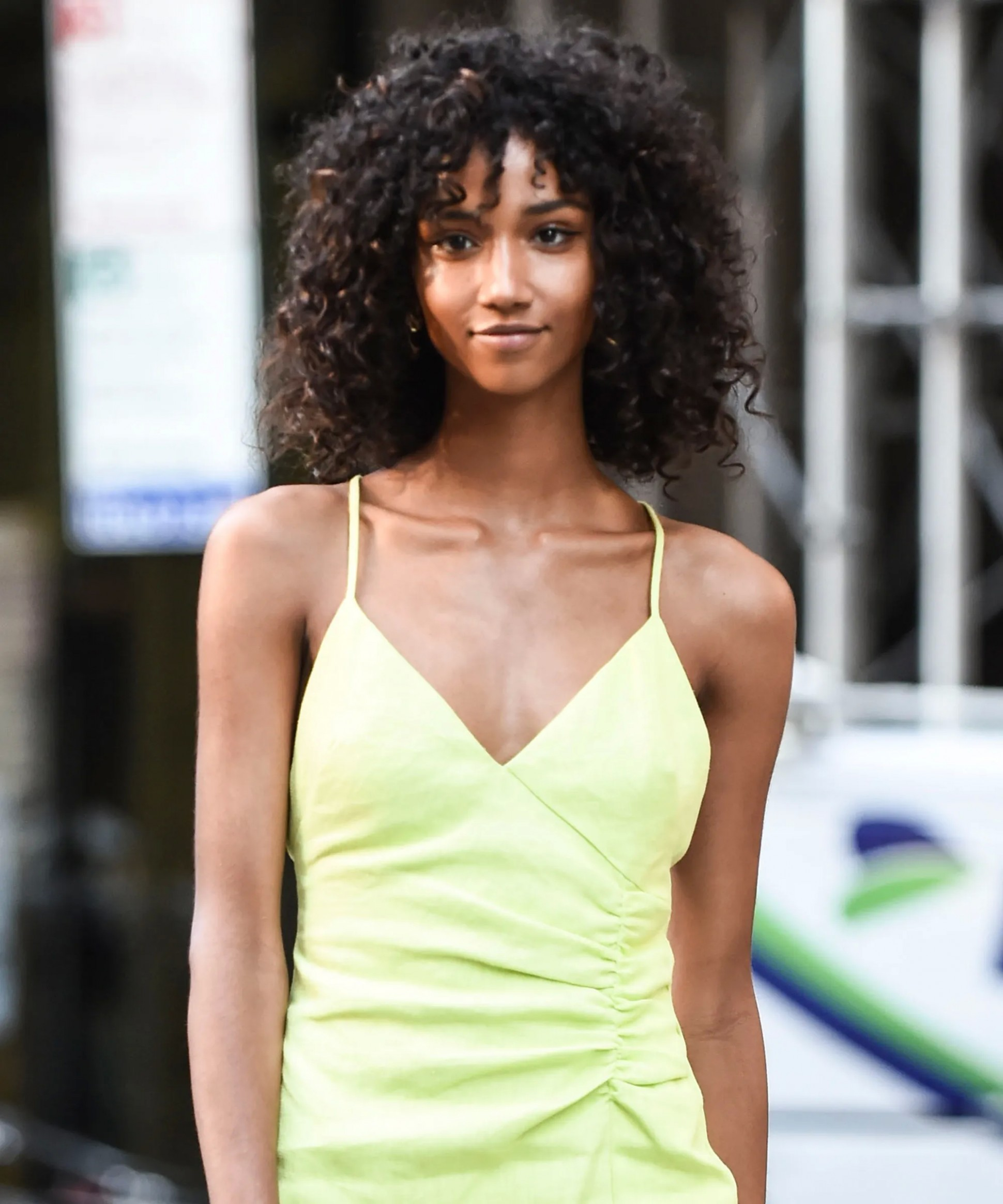 Curly Hair With Bangs Hairstyles To Inspire Your Look