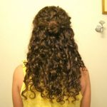 Curly Hairstyle: Three Half Up Styles Half Up Curly Hair