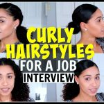 Curly Hairstyles For A Job Interview Natural Hair Interview Hairstyles For Curly Hair