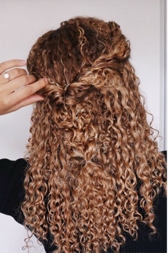 Curly Hairstyles For Black Hair Curly Hair Styles Naturally Half Up Curly Hair
