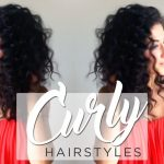 Curly Hairstyles: Quick, Simple & Cute Ways To Style Curly Hair Cute Easy Hairstyles For Curly Hair