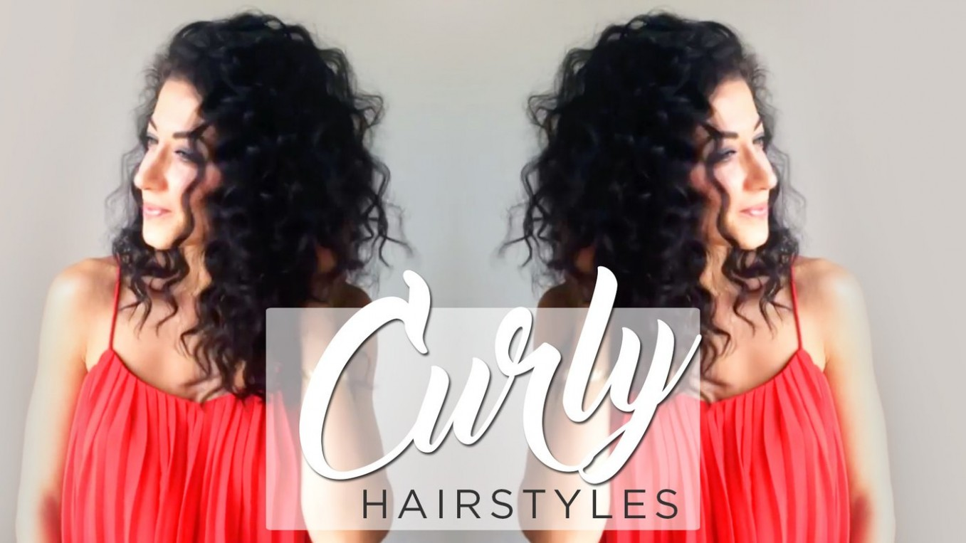 Curly Hairstyles: Quick, Simple & Cute Ways To Style Curly Hair Cute Simple Hairstyles For Curly Hair