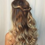 Curly Half Updo For Long Hair Long Hair Updo, Formal Hairstyles Curly Half Updo
