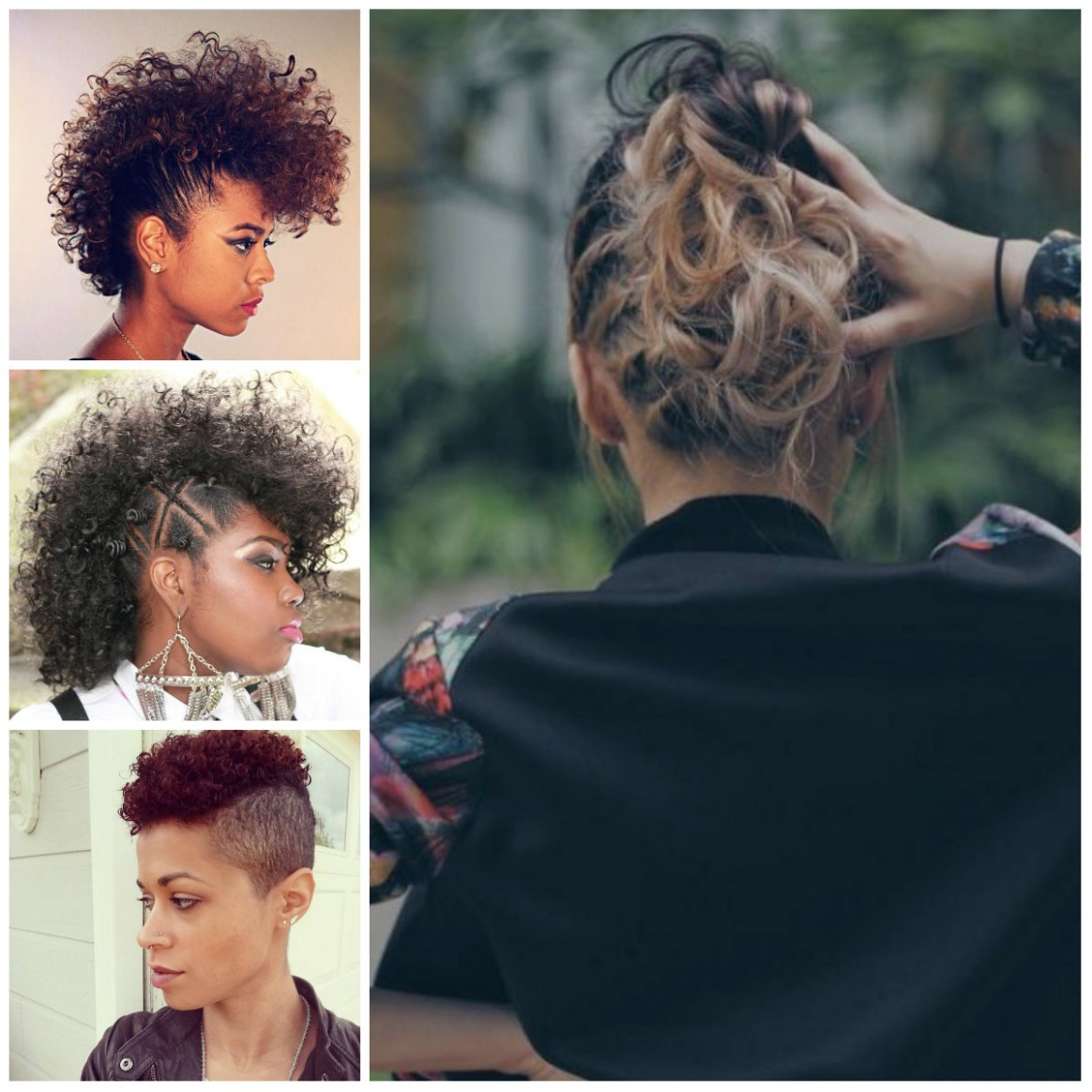 Curly Mohawk Hairstyles for Women 12  12 Haircuts, Hairstyles