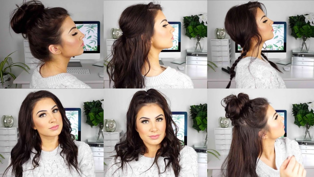 CUTE AND EASY HAIRSTYLES For MEDIUM THIN HAIR Hairstyles For Long Fine Hair