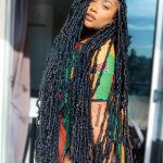 Distressed Locs Styles : Ideas For Natural Faux Locs Jorie Hair Long Locs