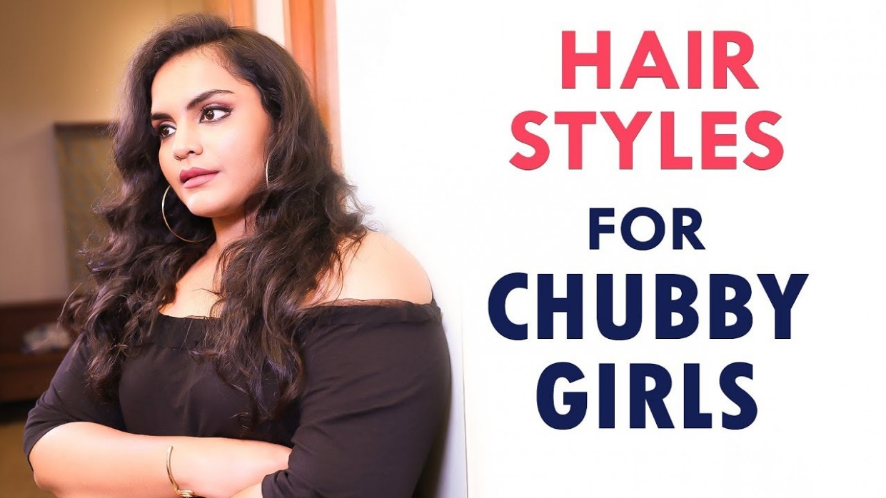 Easy Hairstyle For Round Face ! SaySwag Haircut For Round Chubby Face