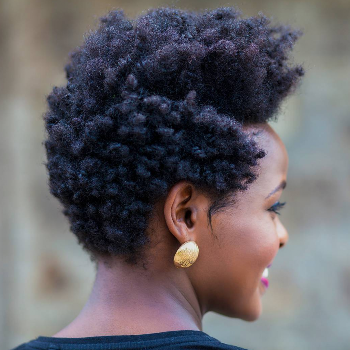 Easy Hairstyles For 9C Hair Essence Natural Hairstyles For Short 4C Hair