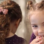 Easy Hairstyles For Little Girls With Curly Hair Little Girl Curly Haircuts