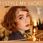Easy Hairstyles For Short Hair ✨ // Vintage Inspired Retro Hairstyle For Short Hair
