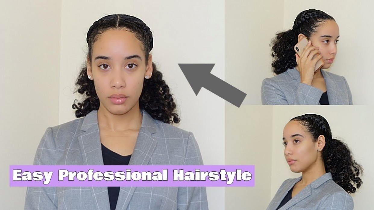 Easy Professional/ Interview Curly Hairstyle Storytime Interview Hairstyles For Curly Hair