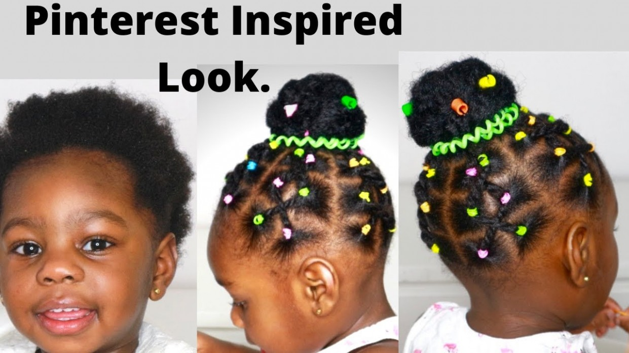 Easy Protective Hair styles For Short Hair / Black kids/ Toddler Hairstyles  for short natural hair.