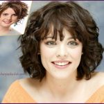 Easy Short Haircuts For Curly Hair Best Short Hair Styles Haircuts For Frizzy Hair Round Face