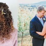 Easy Wedding Hairstyle For Naturally Curly Hair Natural Curly Wedding Hair