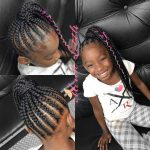Feed In Ponytail Feed In Ponytail, Hair Styles, Kids Hairstyles Braids For Kids With Long Hair