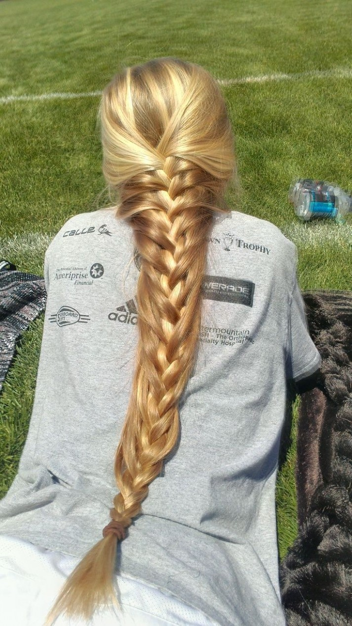 French Braid For Very Long Hairs