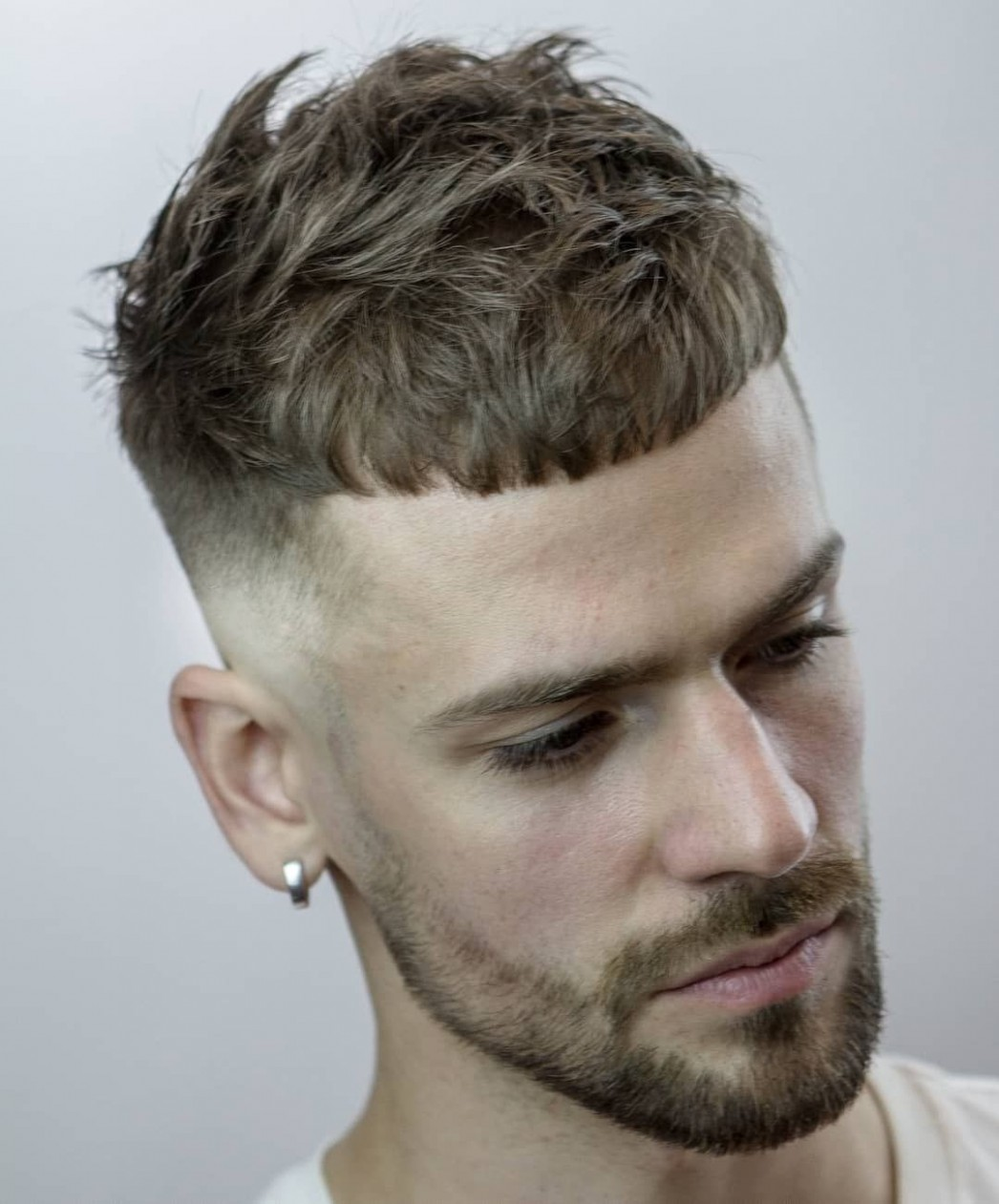 French Crop Fade 11 Coiffure Homme Cheveux Court, Coiffure Crop Cut Hair