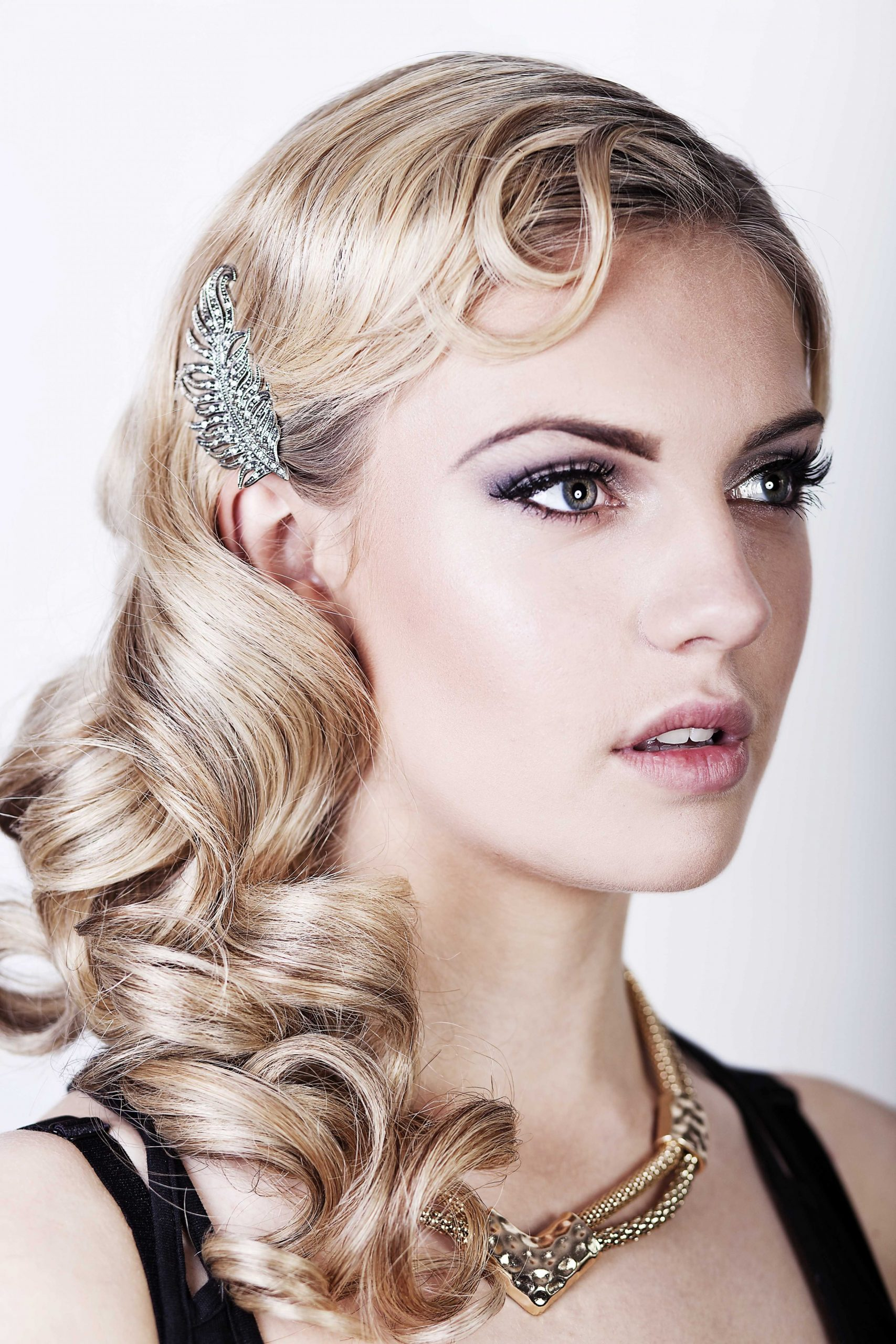 Friday Feature} Seriously Great Gatsby 10s Inspired Hair & Make Up Gatsby Hairstyle For Long Hair