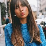 Fringe Hairstyles From Choppy To Side Swept Bangs Glamour UK Long Hair And Bangs