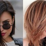 Get Amazed By This Medium Hairstyle That Will Fit Round Faces Shoulder Length Hair For Round Face