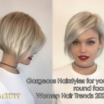 Gorgeous Hairstyles For Your Round Face: Women Hair Trends 11 Pageboy Haircut 2021