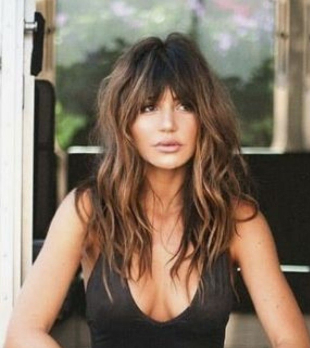 Gorgeous Long Wavy Hair With Bangs Hair Styles, Long Hair Styles Long Hair And Bangs