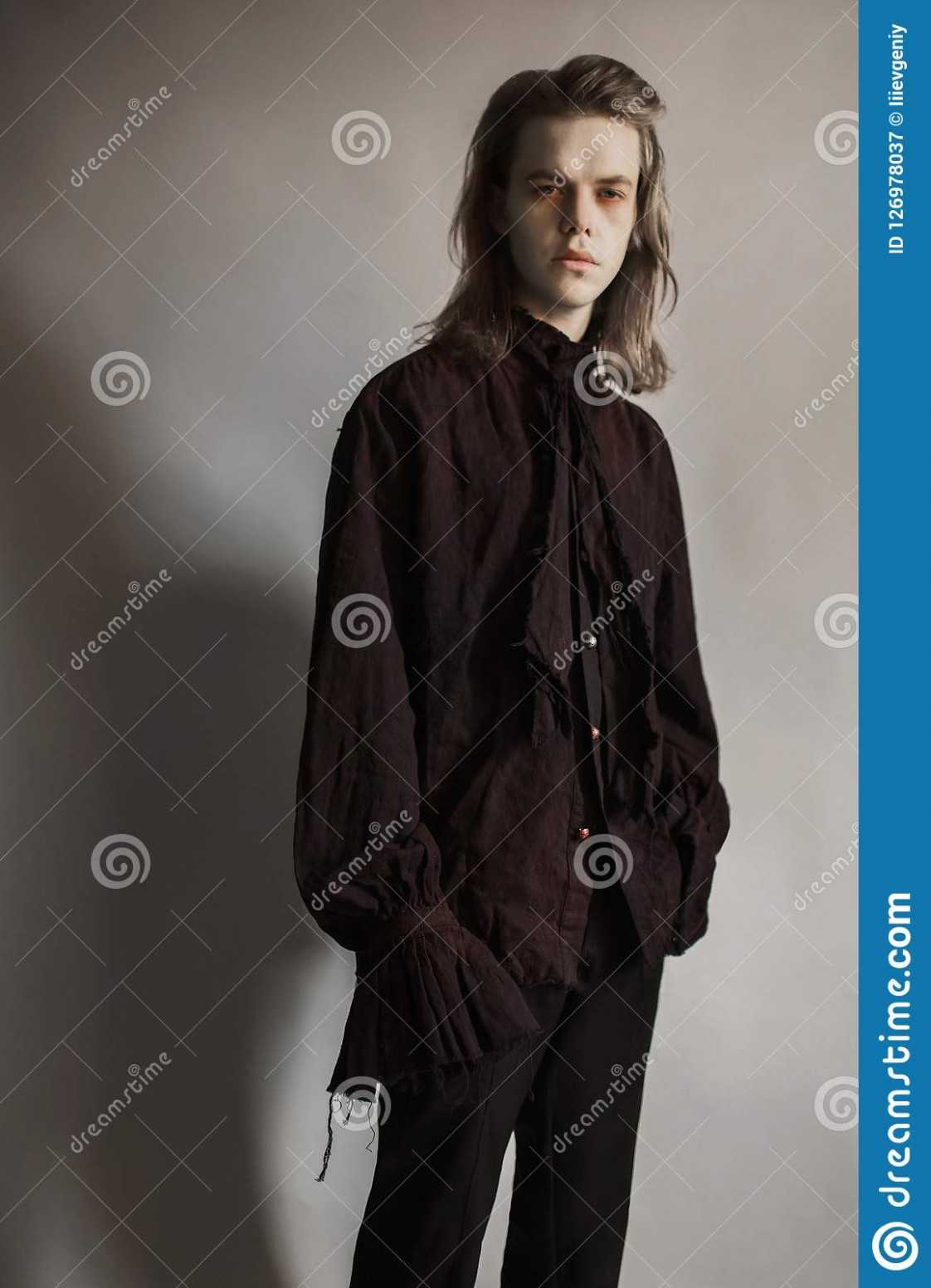 Gothic Halloween Clothes Mystical Knight