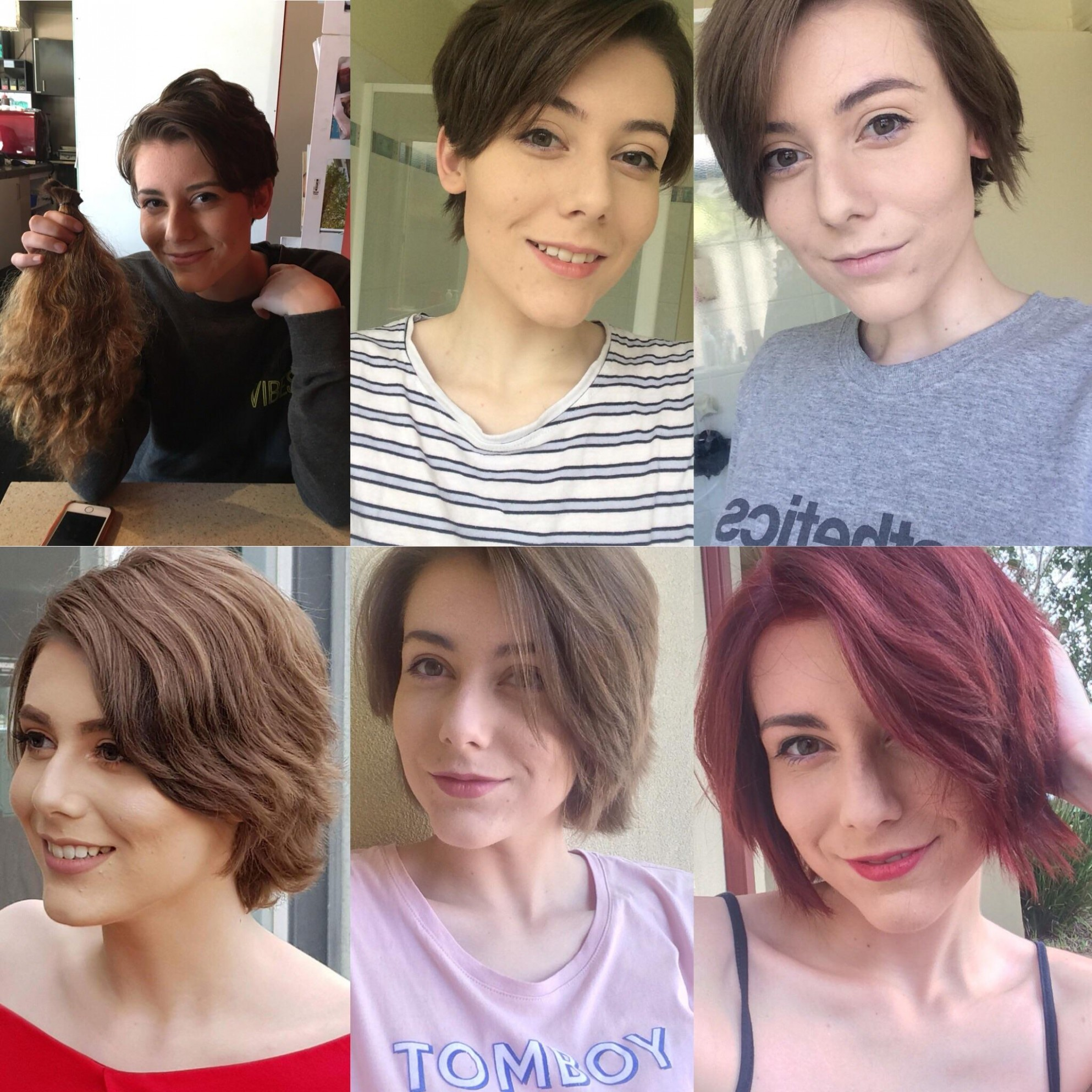 Growing Out My Pixie Cut One Year Of Progress :) : Hair Growing Out A Pixie Cut