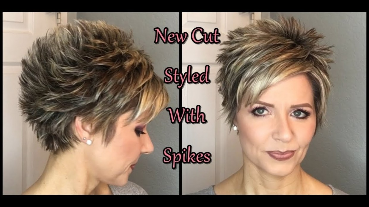 Hair Tutorial: My New Cut Spiked Style! Spiky Haircuts