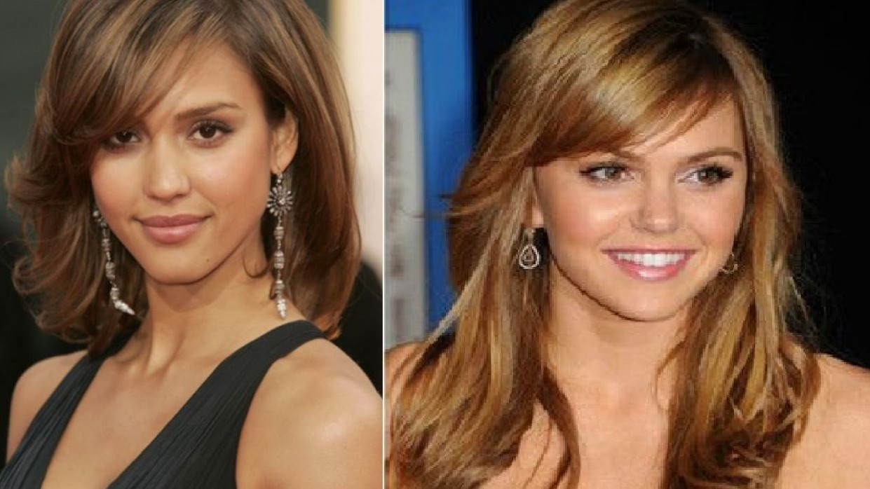 Haircut For Round Face Small Forehead Hairstyles For Small Forehead And Round Face
