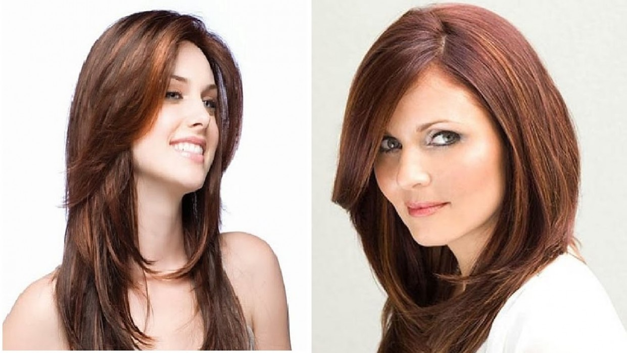 Haircut For Round Face With Long Hair Haircut For Long Hair Round Face