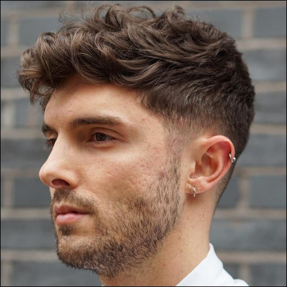 Haircuts For Men With Thick Wavy Hair Mens Hairstyles Thick Hair Hairstyles For Thick Curly Hair