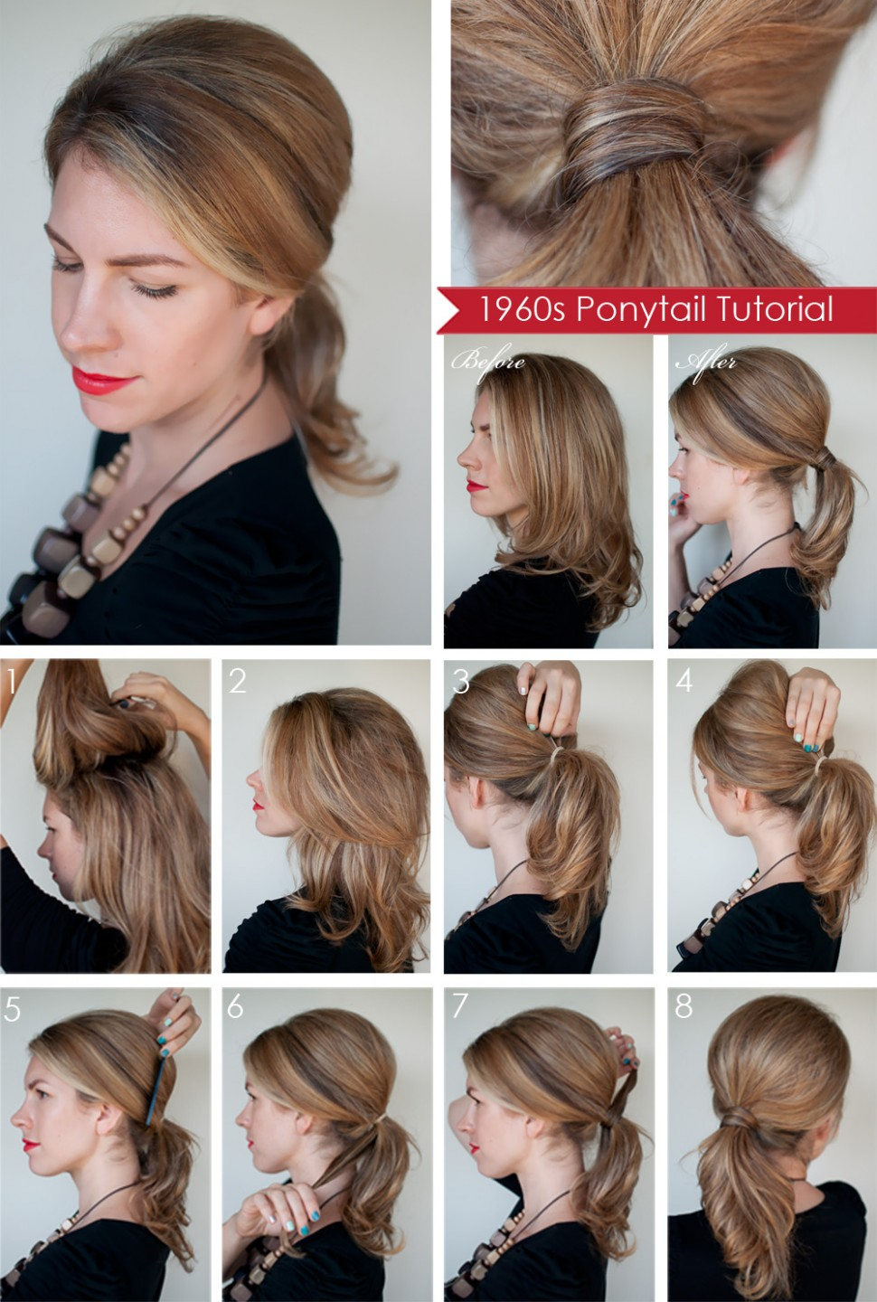 Hairstyle how to: Create a 10s style ponytail - Hair Romance