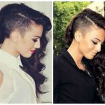 Hairstyle Ideas With Shaved Sides Hair World Magazine Shaved Half Shaved Curly Hair