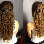 Hairstyles For Curly Hair Down #curly #hairstyles Half Up Curly Hair
