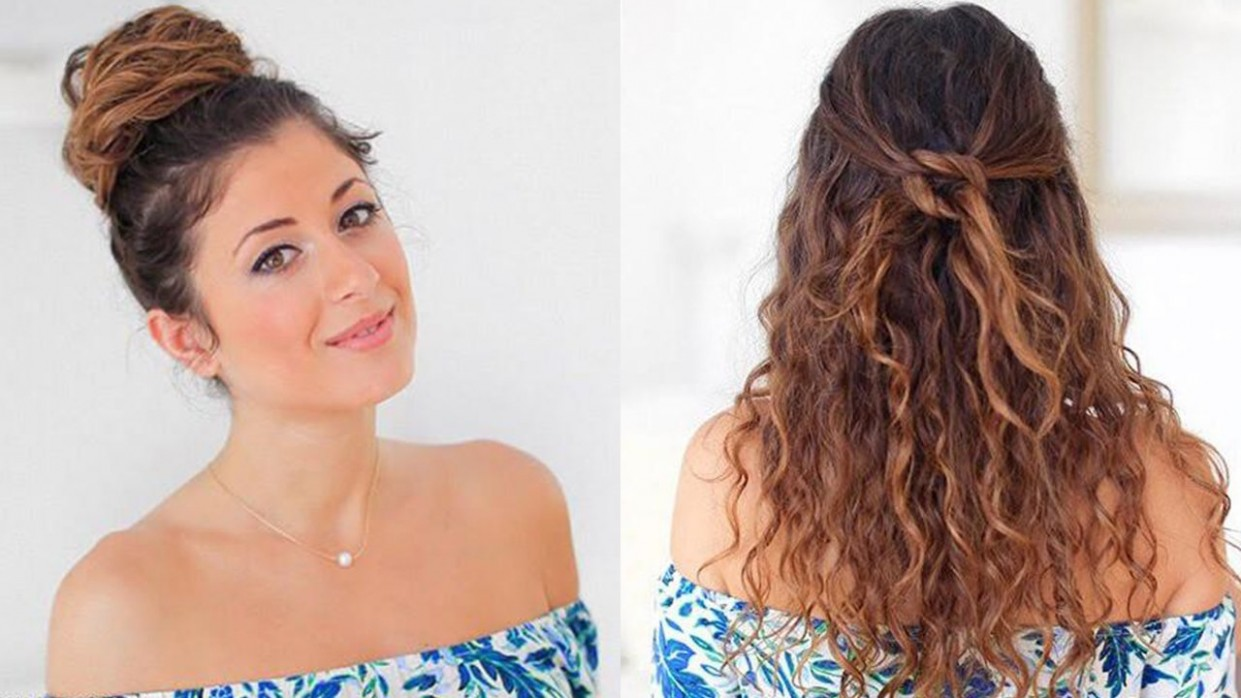 Hairstyles For Frizzy Hair: Best Hairstyles For Naturally Wavy Hair Cute And Easy Hairstyles For Curly Hair
