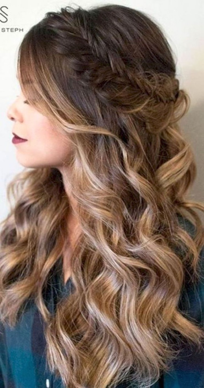 Hairstyles For Long Hair For Prom Prom Hairstyles For Long Hair Down Hairstyles For Long Hair