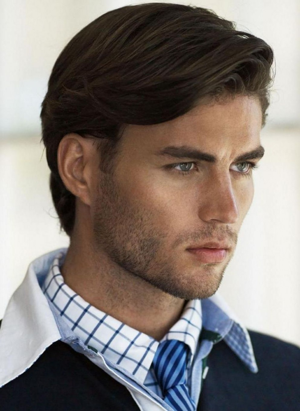 Hairstyles For Medium Length Hair Men With Mullet Style Long In